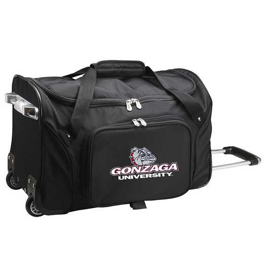 CLGZL401: NCAA Gonzaga UNIV Bulldogs 22IN WHLD Duffel Nylon Bag